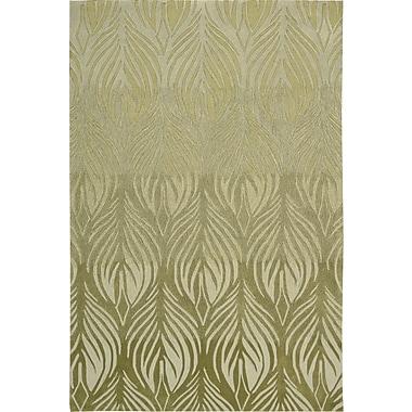 Nourison Contour Hand-Tufted Green Area Rug; 8' x 10'6''