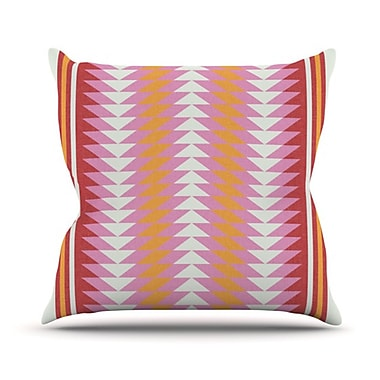 KESS InHouse Bomb Pop Throw Pillow; 26'' H x 26'' W