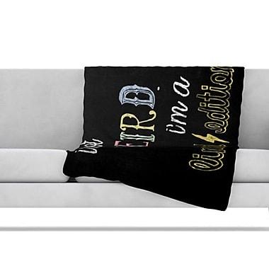 KESS InHouse Weird Fleece Throw Blanket; 60'' L x 50'' W
