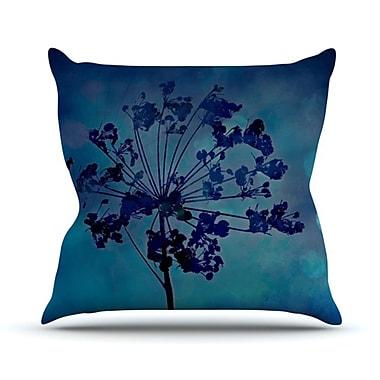 KESS InHouse Grapesiscle Throw Pillow; 18'' H x 18'' W