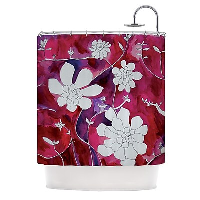 KESS InHouse Succulent Dance II Shower Curtain