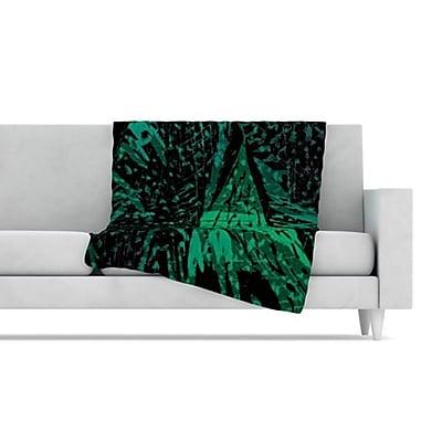 KESS InHouse Family 4 Fleece Throw Blanket; 80'' L x 60'' W