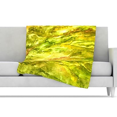 KESS InHouse Tropical Delight Fleece Throw Blanket; 80'' L x 60'' W