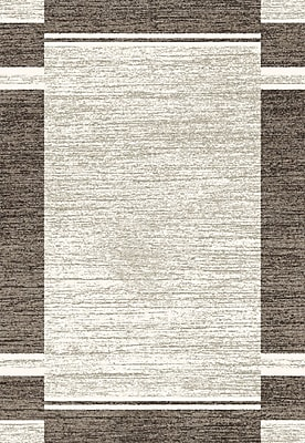 Dynamic Rugs Infinity Silver Area Rug; Rectangle 7'10'' x 11'2''