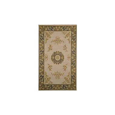MOTI Rugs Ablon Ivory Area Rug; Rectangle 5' x 8'