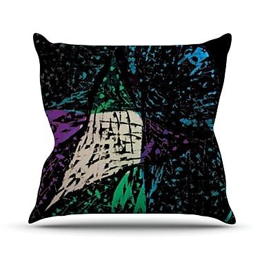 KESS InHouse Family 5 Throw Pillow; 20'' H x 20'' W