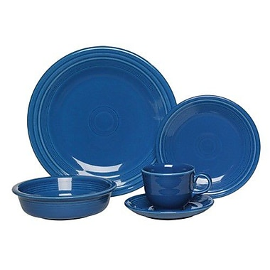 Fiesta 5 Piece Place Setting, Service for 1; Lapis