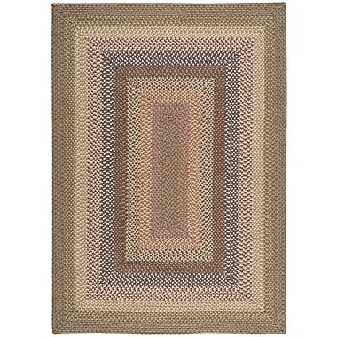 Nourison Craftwork Hand-Woven Beige/Brown Area Rug; 5' x 7'