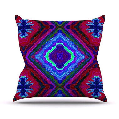 KESS InHouse Kilim Throw Pillow; 20'' H x 20'' W