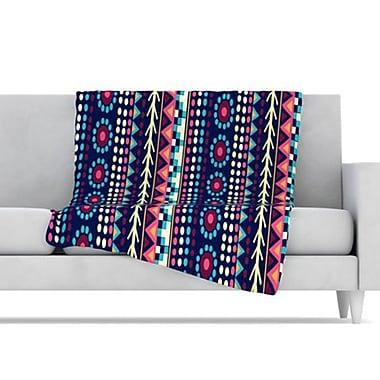 KESS InHouse Aiyana Fleece Throw Blanket; 80'' L x 60'' W