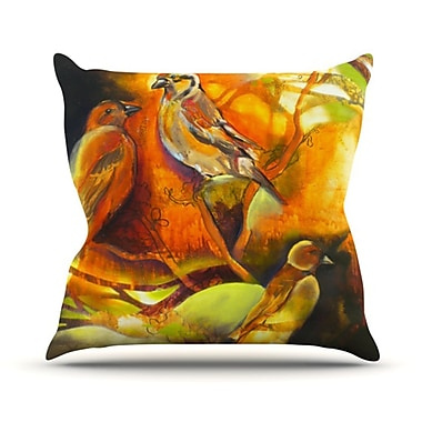 KESS InHouse Reflecting Light Throw Pillow; 16'' H x 16'' W
