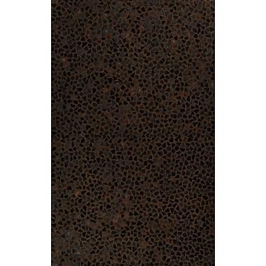 MOTI Rugs Hair Hyde Chocolate Area Rug; 5' x 8'