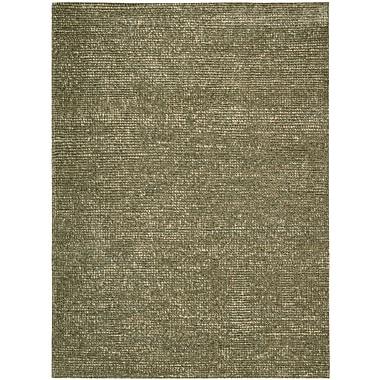 Nourison Fantasia Hand-Tufted Slate Area Rug; 8' x 11'