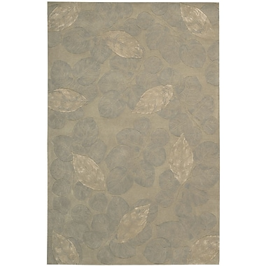 Nourison Julian Hand-Tufted Gray Area Rug; 8' x 11'
