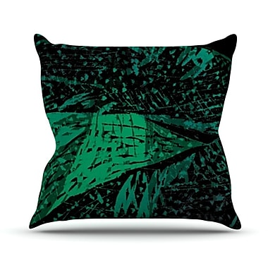 KESS InHouse Family 4 Throw Pillow; 18'' H x 18'' W