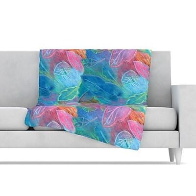 KESS InHouse Rabisco Fleece Throw Blanket; 60'' L x 50'' W