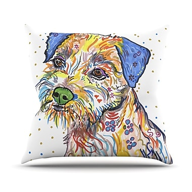 KESS InHouse Rory Throw Pillow; 18'' H x 18'' W