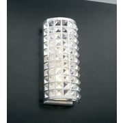 PLC Lighting Jewel 2-Light Wall Sconce; 14'' H x 6'' W x 4'' D