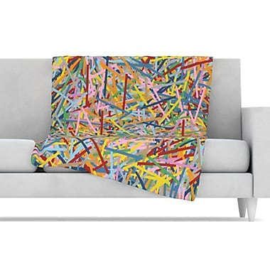 KESS InHouse More Sprinkles Fleece Throw Blanket; 80'' L x 60'' W