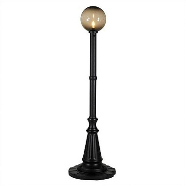 Patio Living Concepts Milano 1-Light 84'' Post Light; Black / Bronze