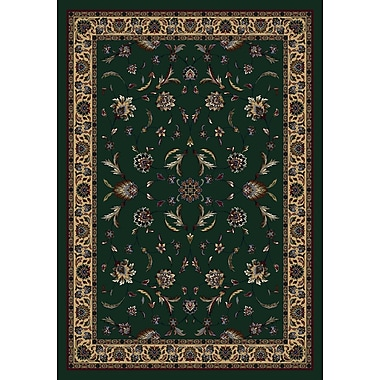 Milliken Signature Isfahan Emerald Area Rug; Rectangle 7'8'' x 10'9''