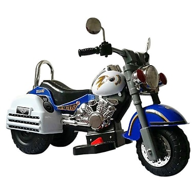Merske LLC Harley 6V Battery Powered Motorcycle; Blue
