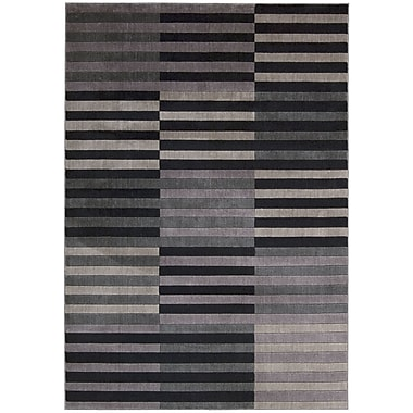 Nourison Utopia Black/Gray Area Rug; 7'9'' x 10'10''