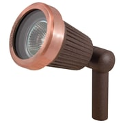 Paradise Garden Lighting Comet 1-Light Spot Light; Rust Copper
