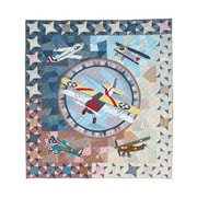 Patch Magic Airplane Quilt; King