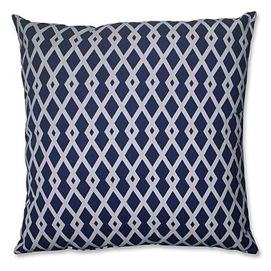Pillow Perfect Cotton Floor Pillow; Ultramarine