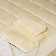 DownTown Company Down Wool Filled Mattress Pad; Twin