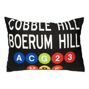 Uptown Artworks Cobble Hill Throw Pillow