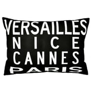 Uptown Artworks France Throw Pillow