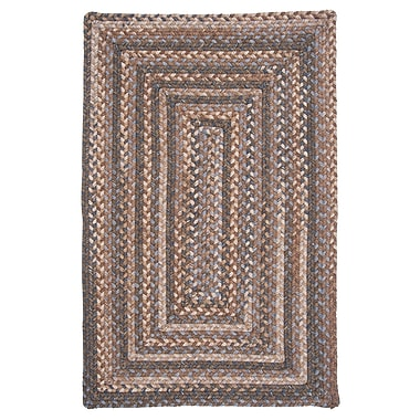Colonial Mills Gloucester Cashew Brown/Tan Area Rug; Square 6'