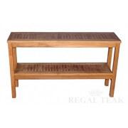 Regal Teak Two Level Buffet Sideboard