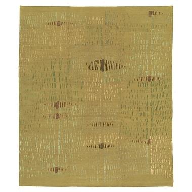 Artisan Carpets Designers' Reserve Yellow/Green Area Rug; 3' x 5'