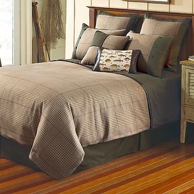 Textiles Plus Inc. Yarn Dye Jacquard Comforter Set; King