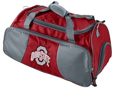 Logo Brands NCAA 21'' Gym Duffel; Ohio State University WYF078275823002