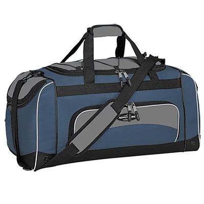 Travelers Polo & Racquet Club Adventurer 24'' Sport Duffel; Navy / Black