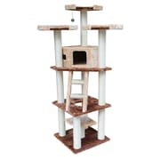 Kitty Mansions 75'' Hollywood Cat Tree