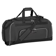 Travelers Polo & Racquet Club Adventurer 24'' Sport Duffel; Black