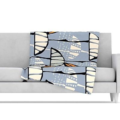 KESS InHouse Eden Throw Blanket; 60'' L x 50'' W