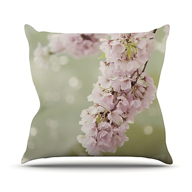 KESS InHouse Blossom Throw Pillow; 16'' H x 16'' W