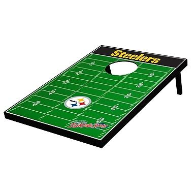 Tailgate Toss NFL Football Cornhole Set; Pittsburgh Steelers