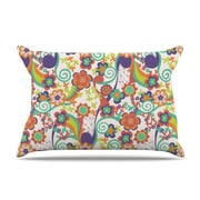 KESS InHouse Printemps Pillowcase; Standard