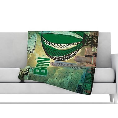 KESS InHouse Boston Throw Blanket; 80'' L x 60'' W