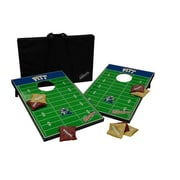 Tailgate Toss NCAA 10 Piece Cornhole Game Set; Pittsburgh