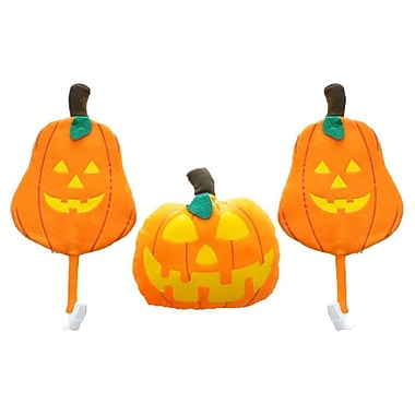 Mystic Industries Corp Halloween Vehicle 3 Piece Pumpkin Car Costume Decoration Set