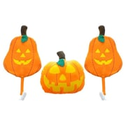 Mystic Industries Corp Halloween Vehicle 3 Piece Pumpkin Car Costume Decoration Set