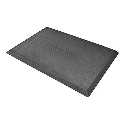 WellnessMats Maxum Solid Kitchen Mat; Rectangle 2' x 3' WYF078275819005
